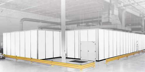 modular rooms can be created in any existing facility