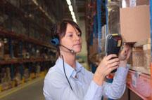 order picking at a warehouse
