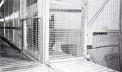 dea cage with window
