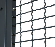 Woven Wire Partitions