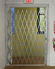 Door gates are great for schools, warehouses, and other facilities