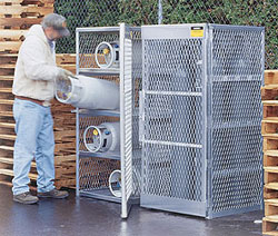 cylinder safety cabinet