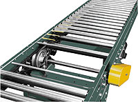 "Accumulation Conveyor - 1.9"" Rollers; V-Belt Driven"
