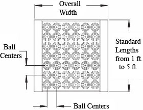 """Ball Transfer Table 2.5"""" Frame"""