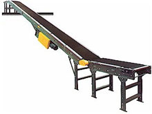 Slider Bed Incline Conveyor