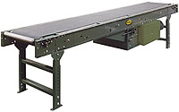 Hytrol Model SB Slider Bed Belt Conveyor