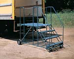 truck access platform ladder