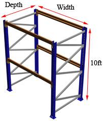 10 foot rack starter