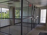 Woven Wire Partitions from Wirecrafters