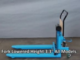 Bishamon Model LV & Model LVE SkidLifts