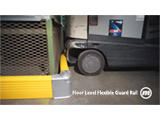 Floor Level Flexible Guardrail System