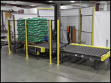 Conveyor Turntable Automated Stretch Wrapper