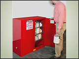 Safety Storage Cabinets for Paint and Ink