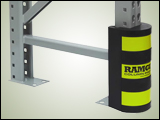 RAMGuard Steel-Reinforced Rubber Post Protector