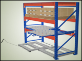 Roll-Out Pallet Shelves