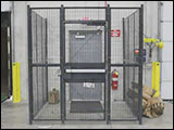 Security Access Cage from WireCrafters