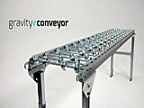 Unex Gravity Flow Conveyor