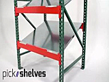 Slanted Gravity Flow Shelves - Unex