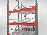 Span Track Carton Flow Tracks