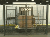 Orion OPK-FA Automated Rotary Tower Stretch Wrap System With Conveyor