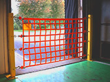 Adjustable Loading Dock Safety Nets