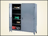 Double-Shift Heavy Duty Metal Cabinets