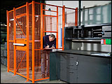 Dock Door & Driver Security Cages