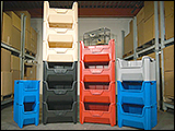 Giant Stackable Hopper Bins