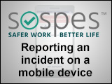Sospes: Reporting a Safety Incident