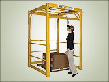 Overhead Mezzanine Safety Gate