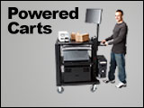 Powered Mobile Workstation Carts