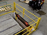 Cantilever Dock Fall Protection Safety Gates