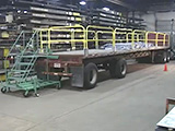 Flatbed Safety Fall Protection System