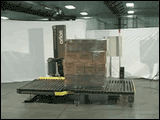 Dual Load High Profile Automatic Stretch Wrapping Machine - Conveyorized