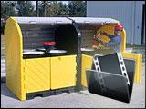 Waste Materials Drum Storage