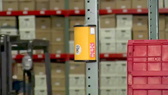 Video: Infrared Warehouse Collision Sensor